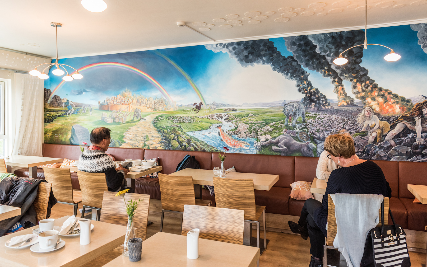 Cafe Loki Mural