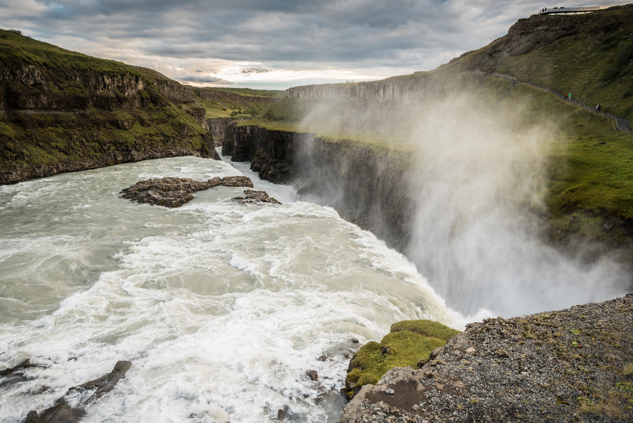 Gullfoss Waterfall: The Golden Falls
