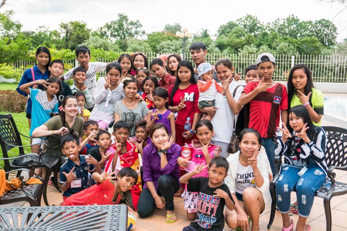 Volunteering in Cambodia Childcare Program