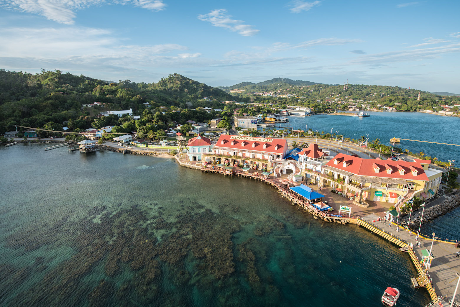 Port of Roatan Island, Honduras
