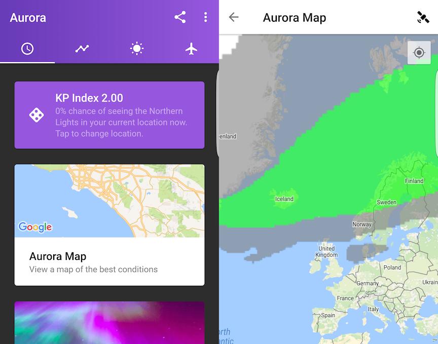 Aurora Alerts Northern Lights App