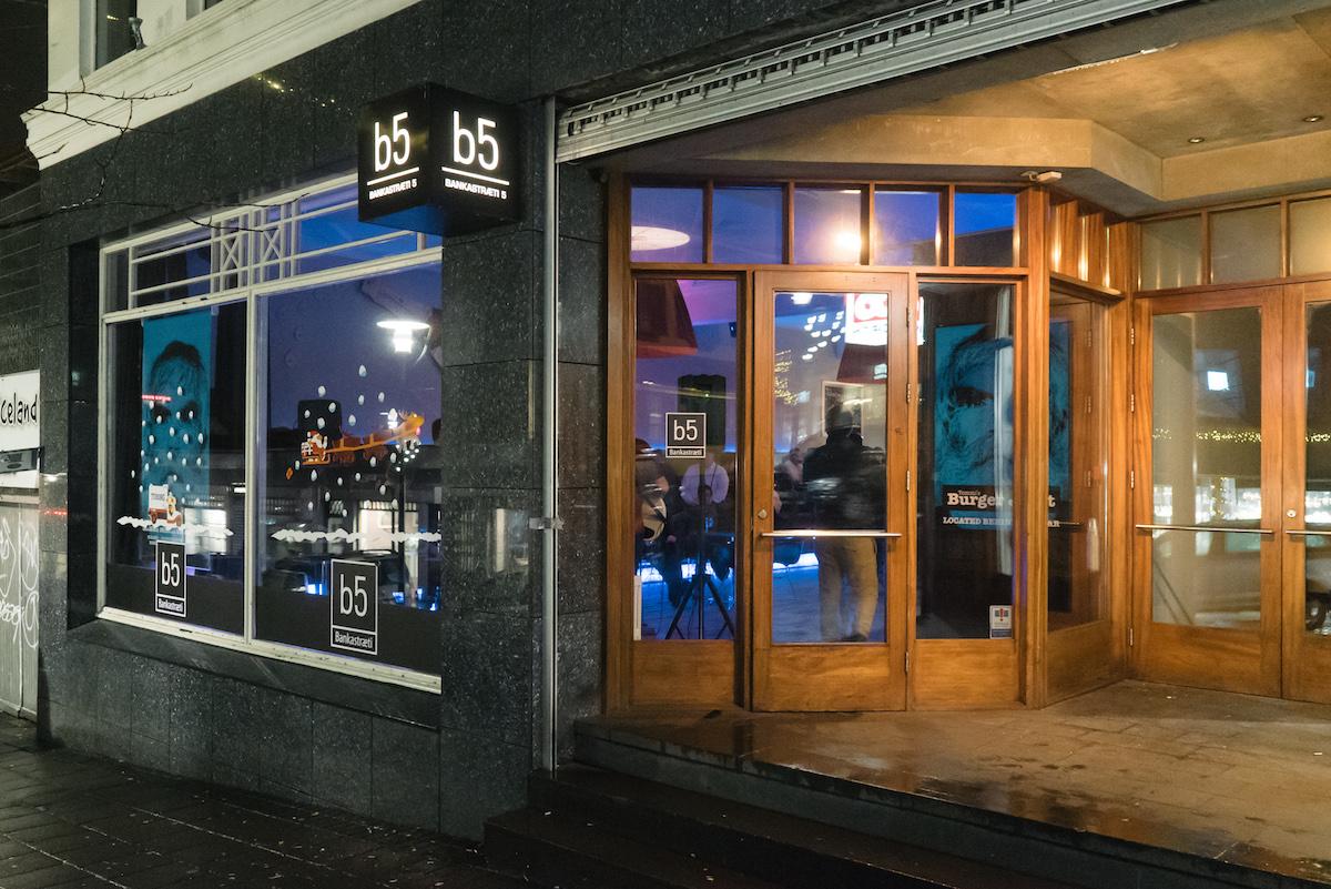 B5 Bar, Reykjavik