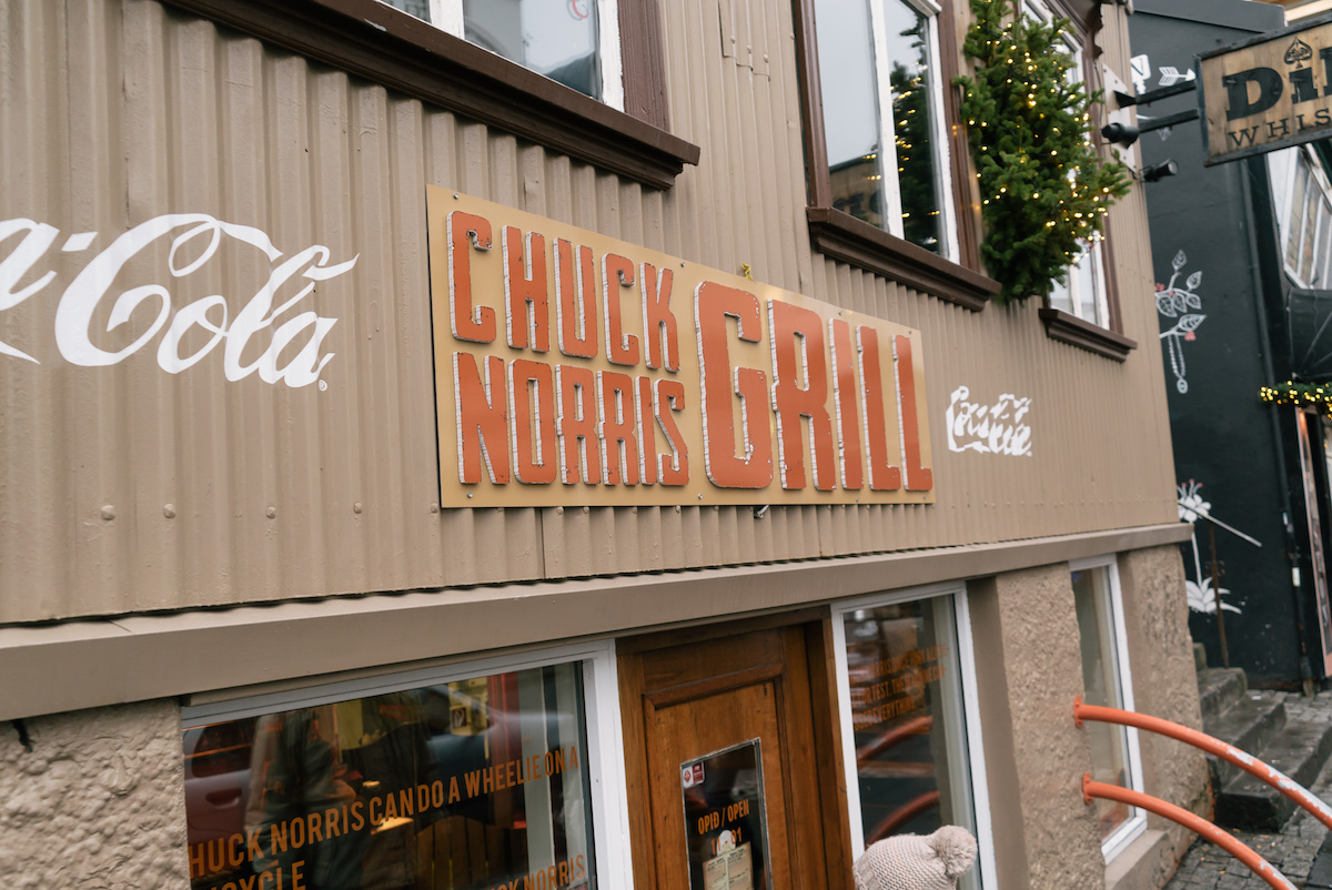 Chuck Norris Grill, Reykjavic