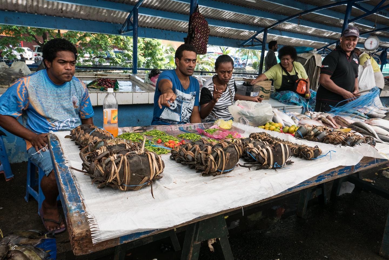 Suva fish market to first class fijian dinner vinaka for Pacific fish market